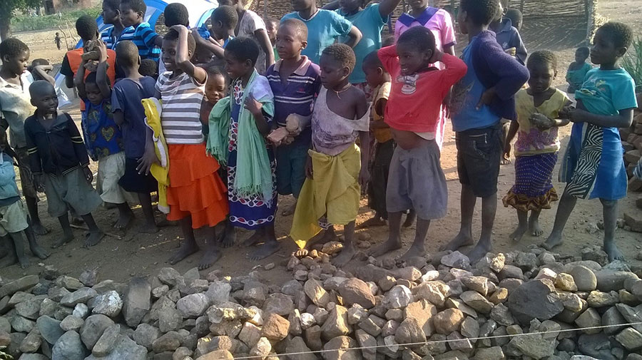 Group of Malawi Children 1