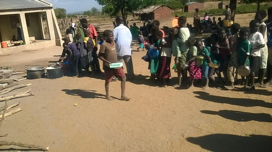Group of Malawi Children 2