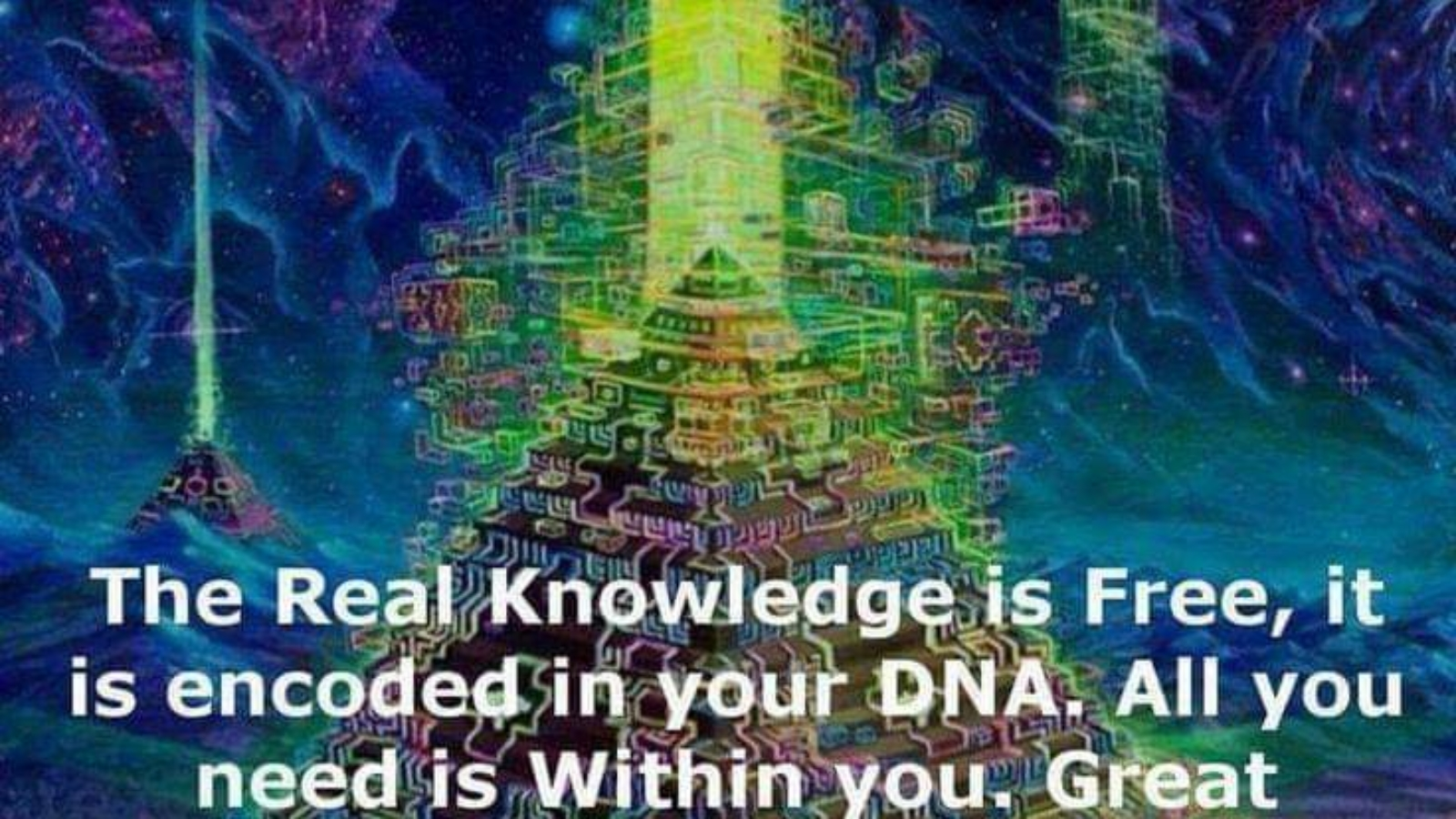real knowledge is free