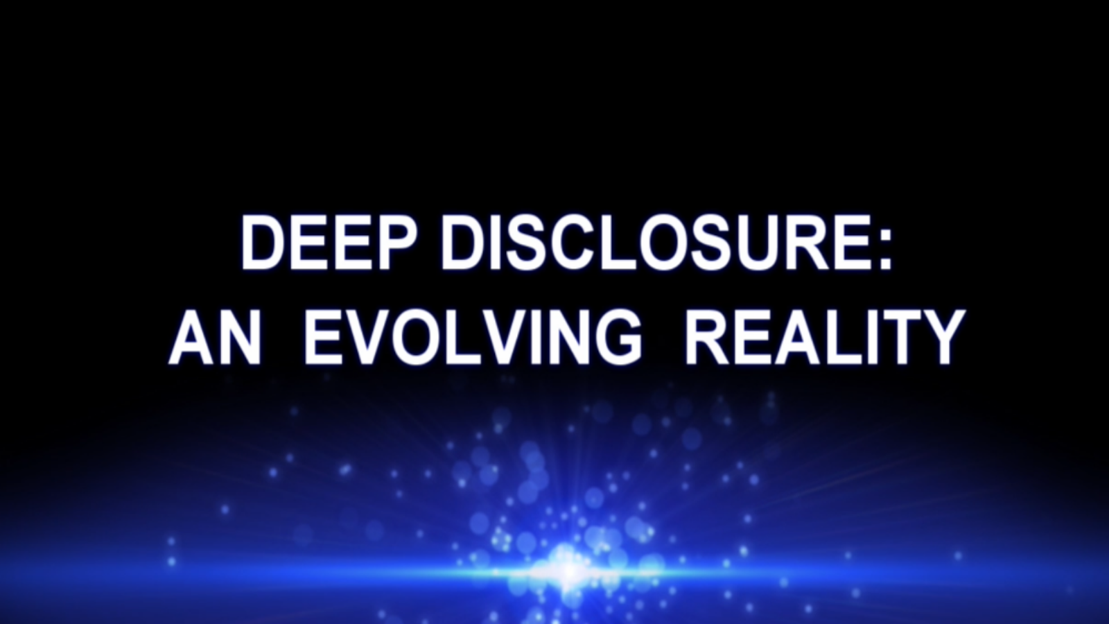 Deep Disclosure